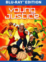 Young Justice: Complete First Season - 2 DISC SET (2014, Blu-ray New)