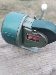 Vintage Heddon 112 Fishing Reel Closed Face. Missing Nut on Inside.