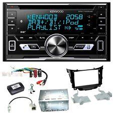 Kenwood DPX-7100DAB Digitalradio Bluetooth Einbauset für Hyundai i30 GD GDH