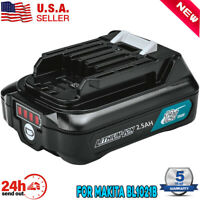 New BL1021B 12V MAX CXT 2.5Ah Lithium Battery For Makita BL1020B BL1041B BL1040B