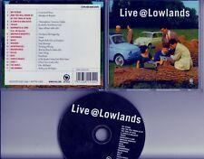 LIVE LOWLANDS DUTCH PROMO  CD Muse Mogwai Heideroosjes My Vitriol Hives Donnas