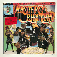 """Chuck Chillout & Kool Chip Masters Of The Rhythm LP Vinyl Record 1989 Promo 12"""""""