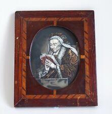 More details for antique 19th century watercolour portrait