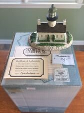 Harbour Lights Old Point Loma, Ca 1991 #105 - Box, Coa, Papers - Excellent