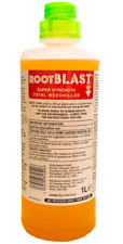 Rootblast Super Strength Total Weedkiller, Concentrated, 1L Commercial for Home