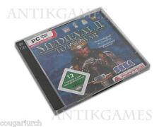 Total War: medieval II DVD versión en CD original funda