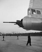 Tail gun of Boeing B-29 Superfortress Washington National Airport New 8x10 Photo