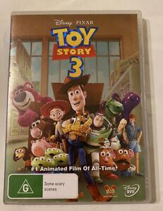 DVD - Toy Story 3 (2010 Movie) Disney Pixar - Region 4