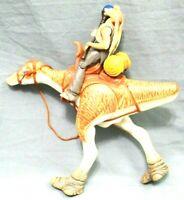 "STAR WARS Hasbro 1998 Action Figures 4"" Jar Jar Binks & 7"" Alien Animal Lot Of 2"