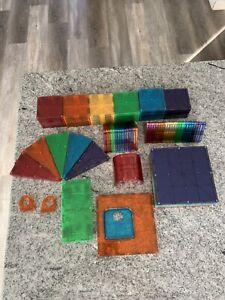 Magna Tiles Clear Color 79 Piece Set