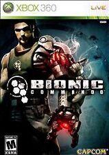 Bionic Commando Xbox 360 Game - Sealed - Brand New