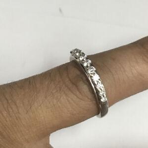 Stunning Diamond 0.33ct 18ct White Gold Ring