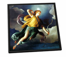 More details for anton raphael mengs diana canvas floater frame wall art square print