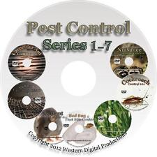 DVD Do Your Own Pest Control Training Series Collection Entire Tutorial Videos