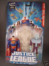 Superman Brainiac Martian Manhunter DC Justice League