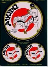 AIKIDO Aufkleber 3er Set  Sticker