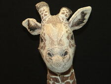 Big Animal Print Vintage Applause 1990 Reticulated Giraffe Plush Stuffed Animal