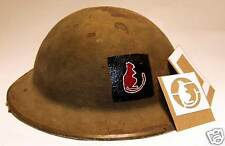 British 8th Army Helmet Stencil WW2 Template Desert Rat Tommy 7th Armoured Div
