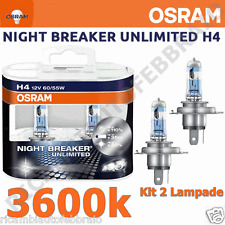 Lampadine OSRAM H4 NIGHT BREAKER UNLIMITED +110% Di Luce Ford Ranger dal 04.02>
