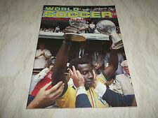 Football Magazine World Soccer September 1983 Hamburger SV Lev Yashin Celtic