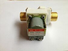 Normally Closed Brass Solenoid Valve Solar for Water Heater 12V DC 1/2""