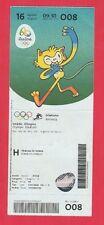 Orig.Ticket  Olympische Spiele RIO DE JANEIRO 2016 - Leichtathletik 16.08. ! TOP