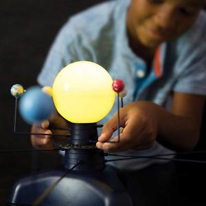 Solar System Model Kit Motorized Science Educational Planets Astronomy LED Light
