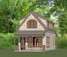 16x30 House --878 sq ft -- PDF Floor Plan -- Model 23