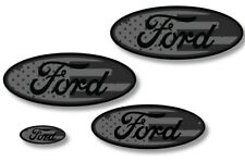 Front,Rear,Steering Wheel Decals Sticker Oval Overlay For Ford Explorer SUB V2