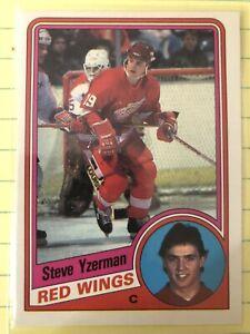 1984-85 O-Pee-Chee Steve Yzerman #67 Rookie Card