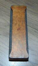 Wood Letter I Letterpress Printer Cut Wood Type 1 516 X 4 18