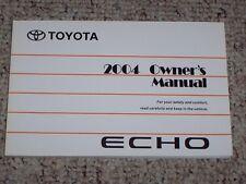 echo in manuals literature ebay rh ebay com sg Toyota Echo Manual Pages 2001 Toyota Echo Repair Manual
