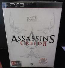 ASSASSIN'S CREED II 2 WHITE COLLECTOR'S EDITION NUOVA VERSIONE ITALIANA PS3