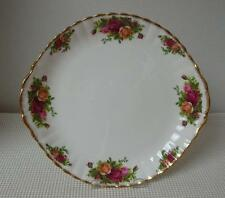 "OLD COUNTRY ROSES Royal Albert 10.5"" HANDLED CAKE PLATE Sandwich China England"