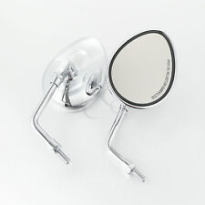 10mm Pair Rearview Side Mirrors Chrome Fit Indian Chief Class Chieftain 2014-up
