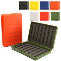 Maxcatch Fly Box Plastic 6 colour Ultra Slim Foam