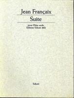 Jean Francaix ~ Suite für Flöte solo