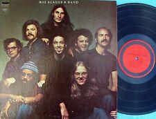 Boz Scaggs & Band ORIG US ST LP EX '72 Steve Miller Blue eyed soul Rock Pop