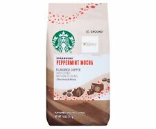Starbucks Peppermint Mocha Ground Coffee 11 Oz . Limited Edition Free World Ship