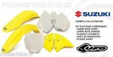 Kit plastiques UFO  Suzuki RM85 2000-2016 00-16 Couleur Origine SUKIT405999