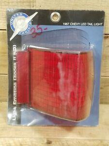 X1 1967 Chevelle Malibu SS LED Turn Signal Tail Brake Light Lamp Lens