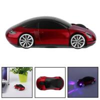 2.4GHz Wireless 1600DPI 3D Car Shape Optical Usb Gaming Mouse for PC laptop DI