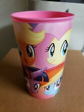 NEW MY LITTLE PONY PLASTIC PINT TUMBLER CUP 16 FL OZ