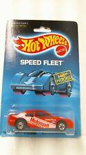 1988 Hot Wheels Speed Fleet New Model Thunderbird Stocker 4916 - Red