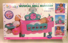 NEW - MUSICAL DOLL NURSERY - CHANGING - SLEEPING - FEEDING - DOLL  ACCESSORIES