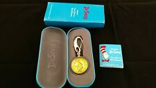 Dr Seuss Tick Tocking Time Tickers Pocket Watch Org Box and Storage Case