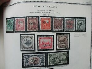 New Zealand Stamps: Variety Set Mint   - Great Item (e189)