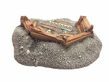 28mm Low Medium Barricade Resin Defense Line Trench Terrain Scenery Wargaming