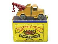 Matchbox Lesney No.13a Bedford Wreck Truck In Type 'B1' Series MOKO Box