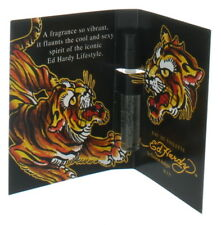 Born Wild by Ed Hardy for Men Vial EDT Cologne Spray 0.05 oz. New in Box